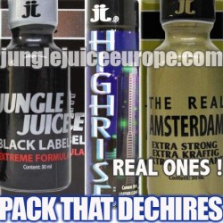 POPPERS PACK THAT DECHIRES